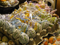 Decorated Easter eggs in Salzburg Royalty Free Stock Images