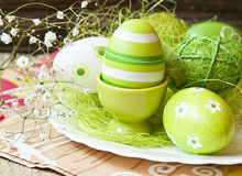 Decorated Easter Eggs Royalty Free Stock Photos