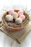 Decorated Easter's eggs Stock Image