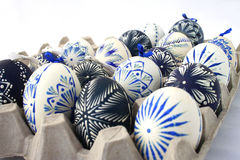 Decorated eggs Stock Images