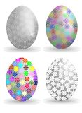 Decorated eggs Royalty Free Stock Image