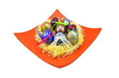 Decorated eggs Royalty Free Stock Photo