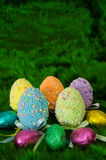 Decorated Eggs Royalty Free Stock Photography