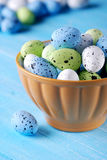 Decorated eggs for Easter Stock Photos