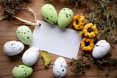 Decorated eggs for Easter Stock Image