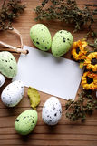 Decorated eggs for Easter Stock Photography