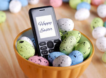 Decorated eggs for Easter Royalty Free Stock Photos