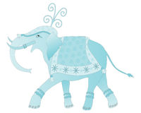 Decorated elephant Royalty Free Stock Image