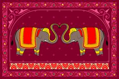 Decorated Elephant Stock Photos