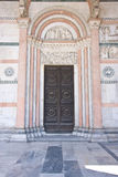 Decorated entrance, marble Royalty Free Stock Images