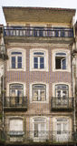 Decorated facade Coimbra Portugal Royalty Free Stock Photography