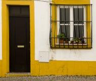 Decorated facade Evora Portugal Royalty Free Stock Photos