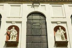 Decorated facade Stock Photos