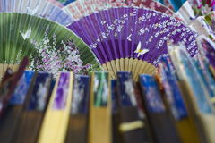 Decorated Fans Stock Photos