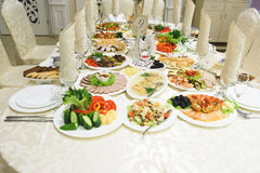 Decorated Festive Table Stock Photography
