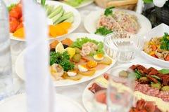 Decorated Fish Platter Stock Photos