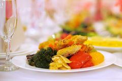 Decorated Food Royalty Free Stock Image