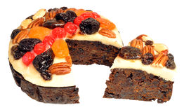 Decorated Fruit Cake Stock Photos