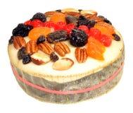Decorated Fruit Cake Stock Images