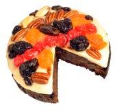 Decorated Fruit Cake Stock Image