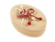 Decorated gift box Stock Images