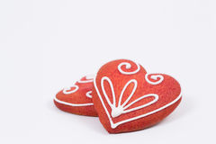 Decorated gingerbread Stock Images