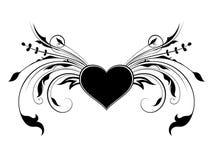 Decorated heart Stock Photos