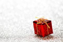 Decorated holiday gifts Royalty Free Stock Photos