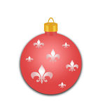 Decorated Holiday Ornament Royalty Free Stock Photography