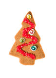 Decorated homemade gingerbread Stock Images