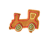 Decorated homemade gingerbread Royalty Free Stock Photos