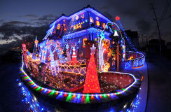 Decorated house Stock Image