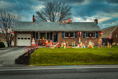 Decorated House beside Ditto Home Stock Photo