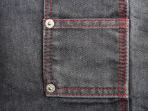 Decorated Jeans Stock Photography