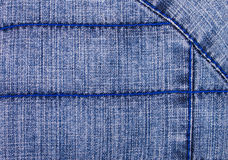 Decorated  Jeans Background Stock Photo