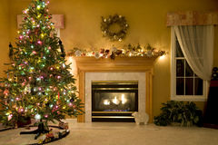 Decorated Living Room Stock Photos
