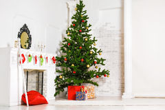 Decorated living room Stock Photography