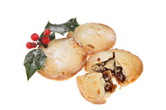 Decorated mince pies Stock Photography
