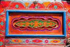 Decorated Pakistani truck royalty free stock photos