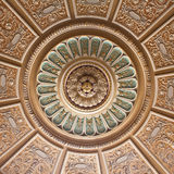 Decorated palace ceiling Royalty Free Stock Photography