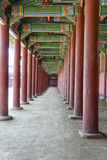 Decorated Palace Walkway Royalty Free Stock Photo