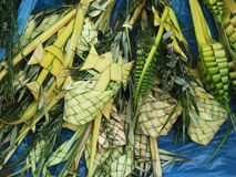 Decorated palm typical on Palm Sunday Royalty Free Stock Image