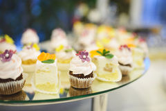 Decorated Pastry Royalty Free Stock Photo