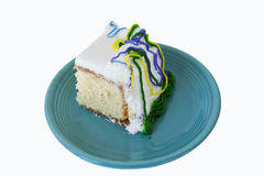 Decorated Piece Of Cake Stock Photo