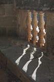 Decorated pillars royalty free stock photos