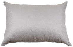 Decorated pillow isolated on white Stock Photography
