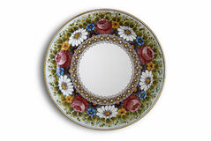 Decorated plate Royalty Free Stock Photos