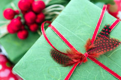 Decorated presents Stock Photo