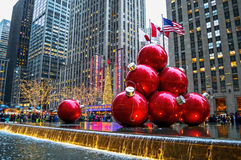 Decorated Radio City Royalty Free Stock Images