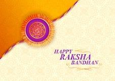 Decorated rakhi for Indian festival Raksha Bandhan. Vector illustration of decorated rakhi for Indian festival Raksha Bandhan Stock Image